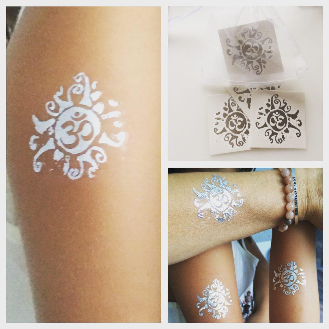Tattoo silber