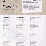Yoga Zeit Okt/Jan 2014