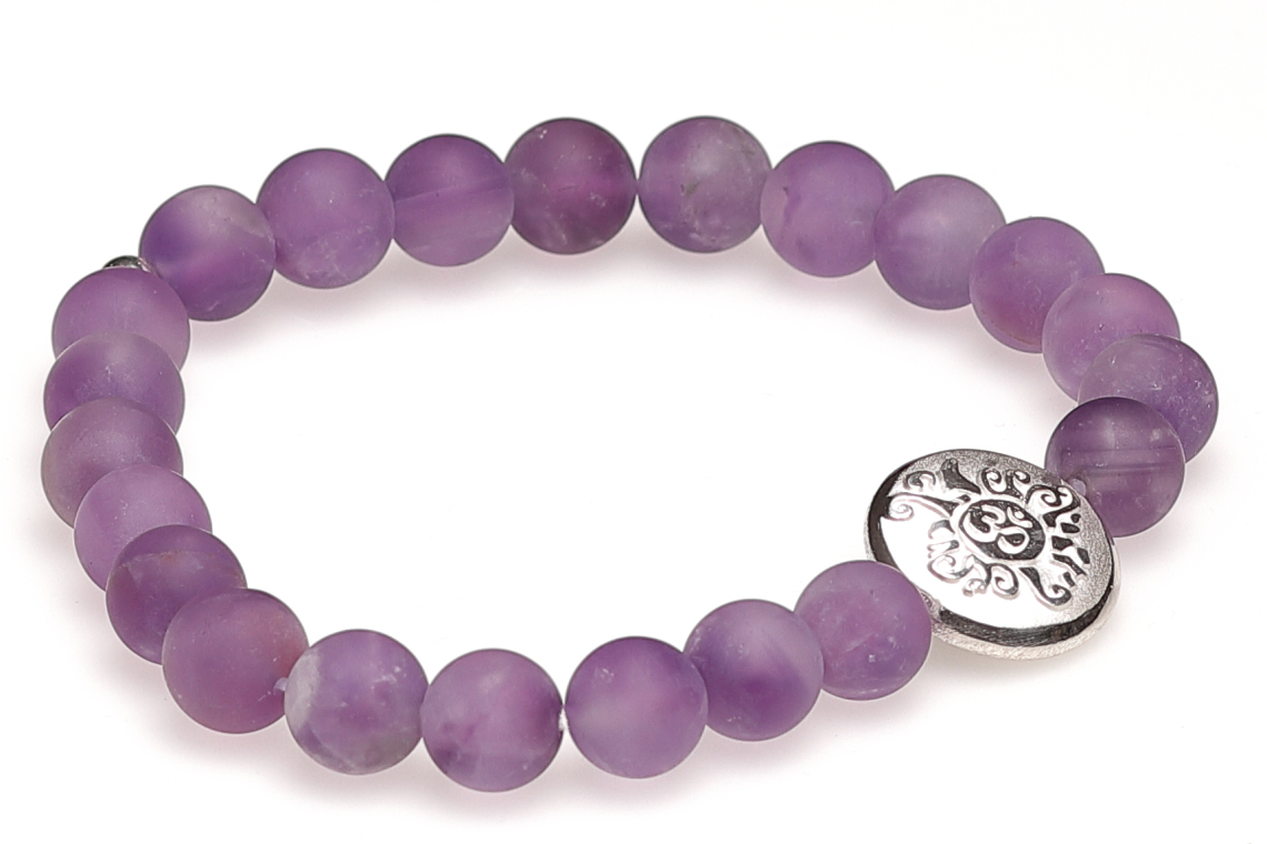 Handmala Amethyst matt 8 mm