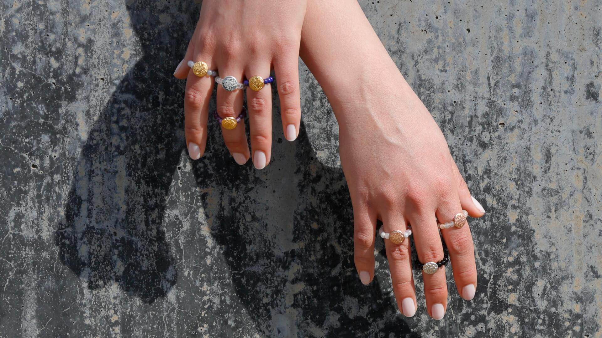 Edelstein Ringe Malawelt