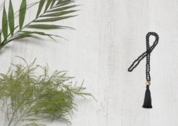4mm Lava Mala Yogakette